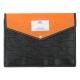 Opaque Button File Orange