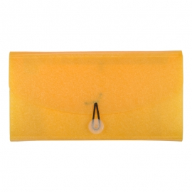 Cheque Book Folder Yellow