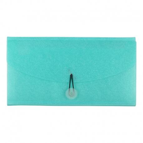 Cheque Book Folder Green