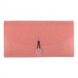 Cheque Book Folder Pink