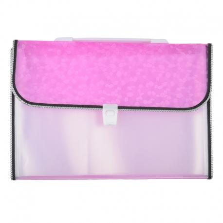 Expanding File Pink